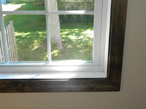 dark stain wood